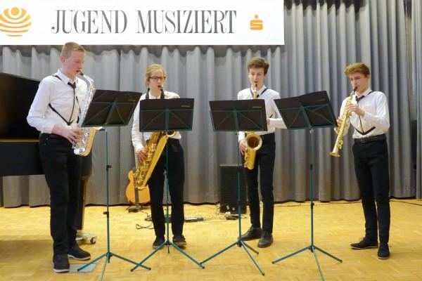 Saxophonquartett_Foto_LHS_Christina_Luedicke